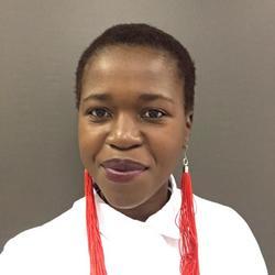 Judy Mokgohloa, estate agent